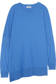 Jil Sander Oversized fleece wool and cashmere-blend sweater