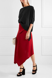 Jil Sander Silk crepe de chine top
