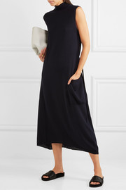 Jil Sander Belted wool turtleneck tunic
