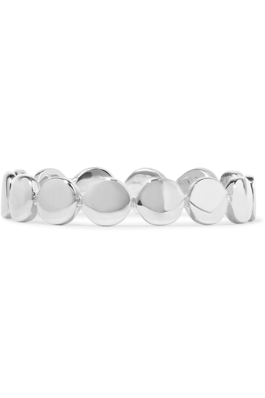 Saskia Diez Paillettes silver ring