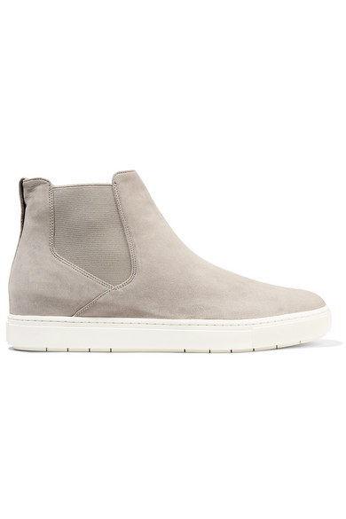 ebcc214c0d51c1 Vince. Newlyn suede high-top sneakers