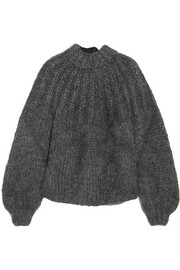 Julliard open-back mohair and wool-blend sweater