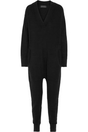 Gallery merino wool and cashmere-blend jumpsuit