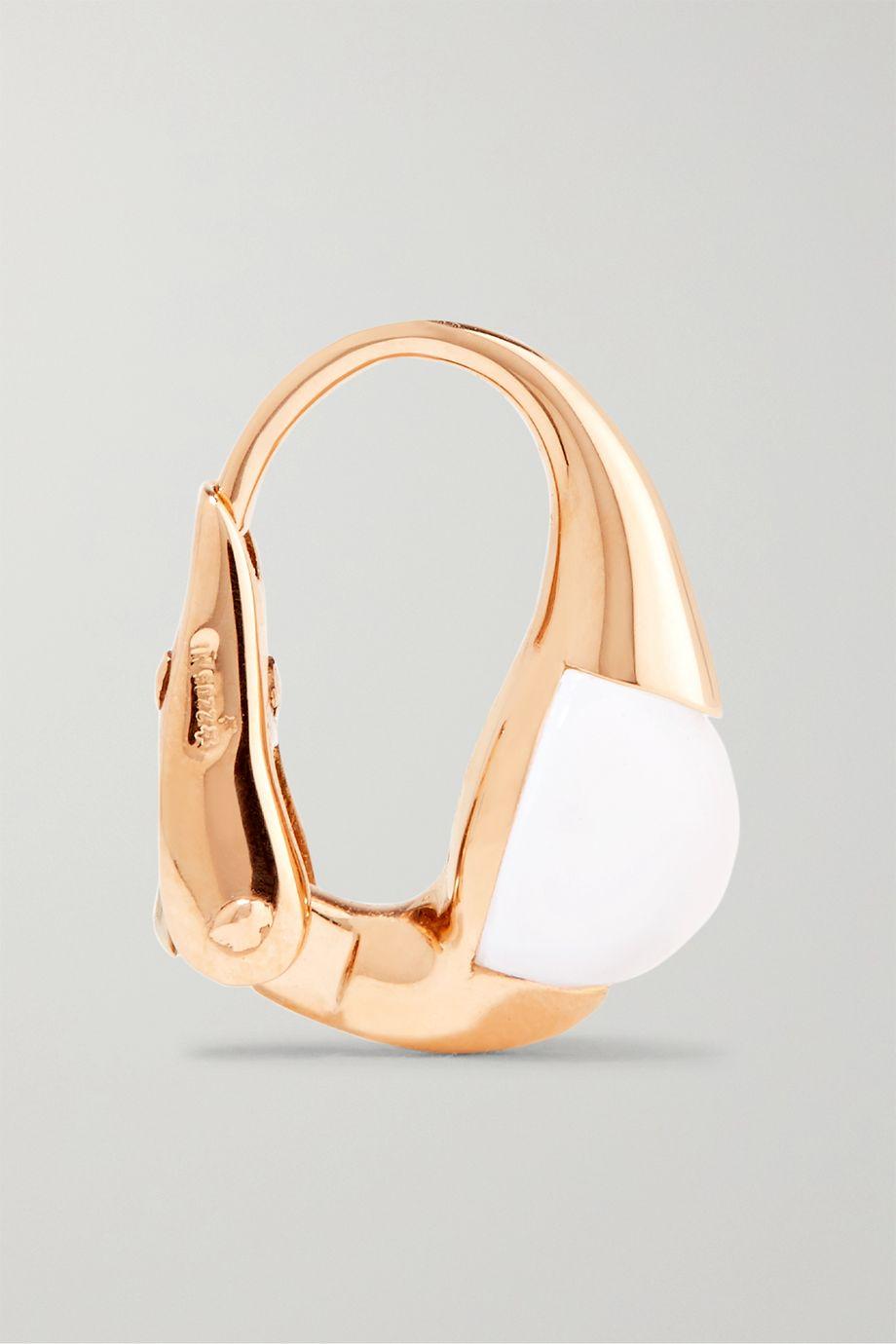 Pomellato M'ama Non M'ama 18-karat gold topaz earrings