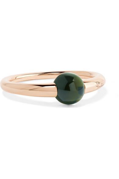 Pomellato - M'ama Non M'ama 18-karat Gold Tourmaline Ring - Rose gold