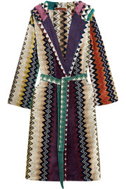Missoni Home Taylor cotton-terry robe