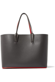 Cabata two-tone leather tote