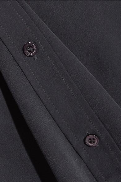 Equipment Slim Signature Hemd aus vorgewaschener Seide