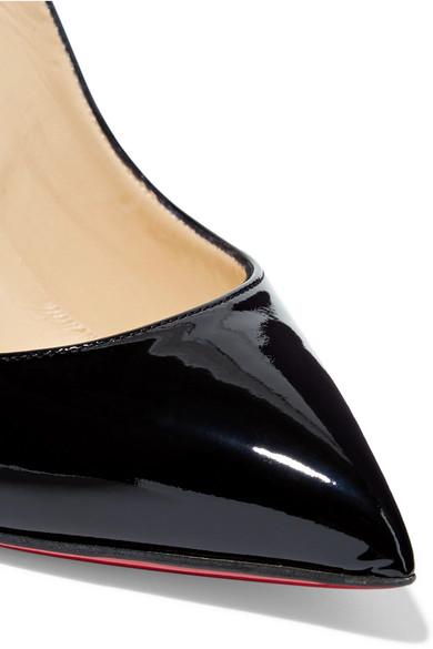 la moitié 7eeb5 2d25a Christian Louboutin | Pigalle Follies 100 patent-leather ...