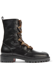 Christian Louboutin Kloster shearling-lined leather boots