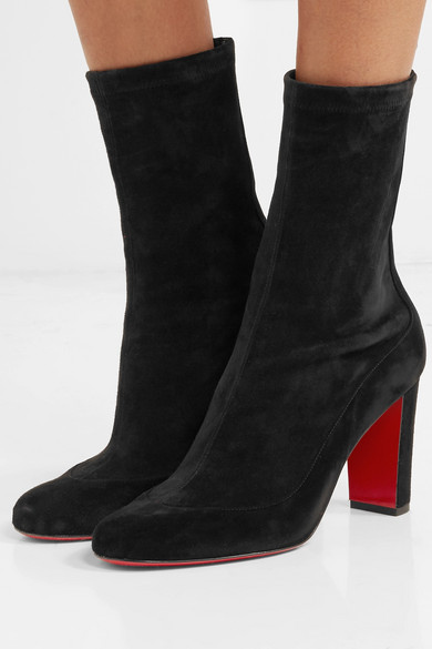 competitive price ada7a a7d2b Christian Louboutin | Gena 85 suede ankle boots | NET-A ...