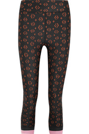 Magical Eye printed stretch-jersey leggings