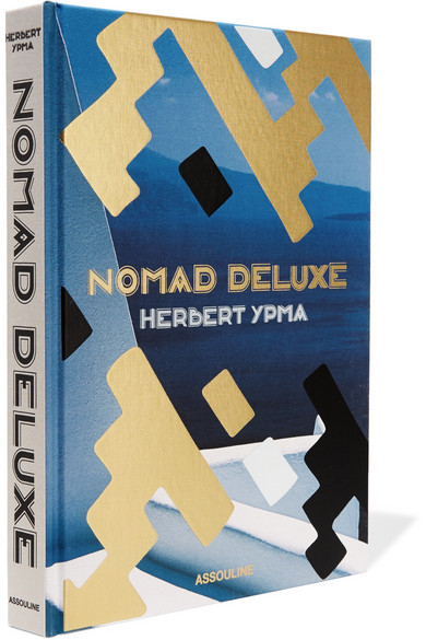 Assouline - Nomad Deluxe By Herbert Ypma Hardcover Book - Blue