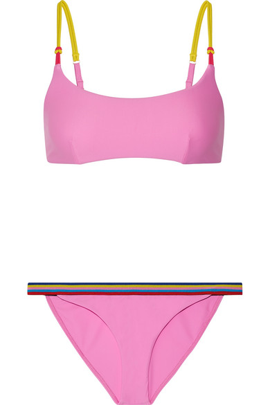 Dazzle Striped Bikini by Rye