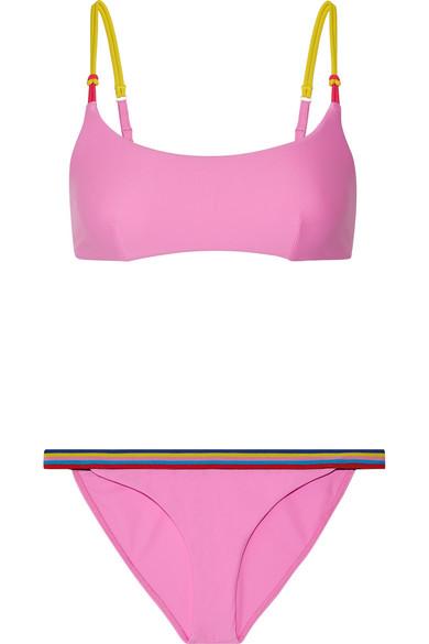 Dazzle Striped Bikini by Rye