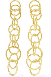 Hawaii Honolulu 18-karat gold earrings