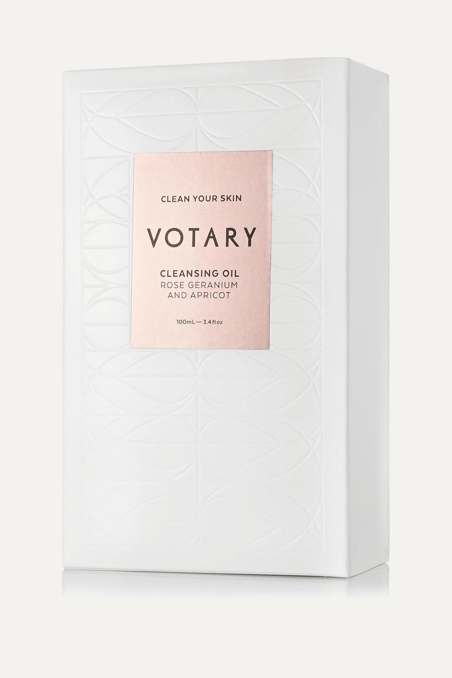 Votary Cleansing Oil – Rose Geranium & Apricot, 100 ml – Reinigungsöl