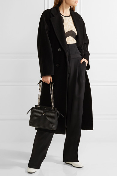 Max Mara Madame Oversized Wool And Cashmere Blend Coat Net A Porter Com