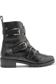 Alex leather ankle boots
