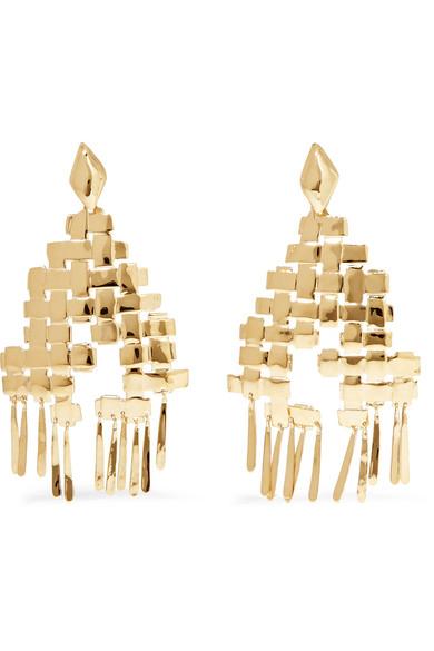 Aurélie Bidermann - Marella Gold-plated Earrings