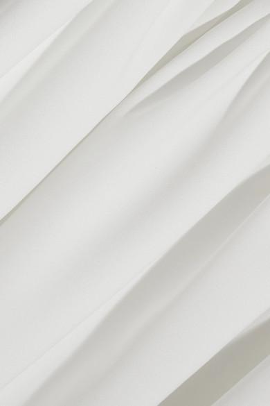 Halfpenny London Stella Robe aus Crêpe de Chine mit tief sitzender Taille