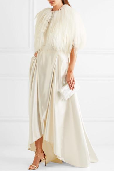 a98edc3e84 Halfpenny London. Georgie pleated satin maxi skirt. £1,000. Exclusive. Play