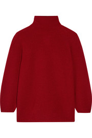 Belgio textured wool-blend turtleneck sweater