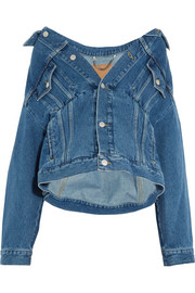 Swing oversized denim jacket
