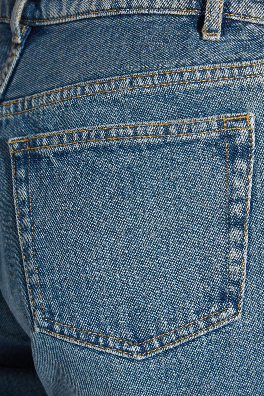 Balenciaga Tube high-rise straight-leg jeans