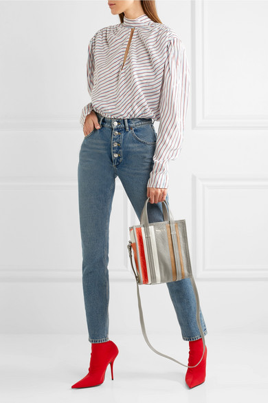 8d55bb374 Balenciaga | Tube high-rise straight-leg jeans | NET-A-PORTER.COM