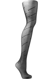 Intarsia tights