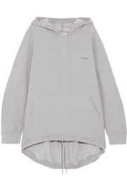 Balenciaga Cocoon cotton-blend jersey hooded top