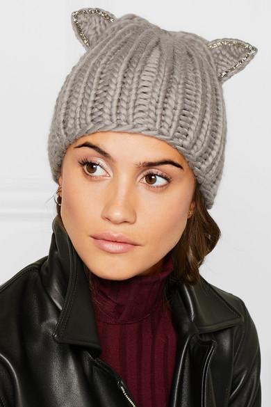 510f064f90c Eugenia Kim. Felix crystal-embellished wool beanie