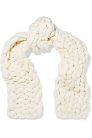 Igby oversized wool scarf