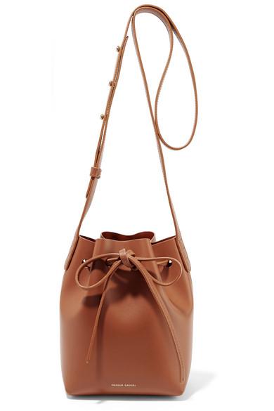 Mansur Gavriel - Mini Mini Leather Bucket Bag - Tan