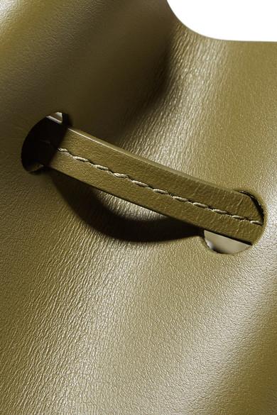 100% Ig Garantiert Günstig Online Aberdeen Mansur Gavriel Mini Mini Beuteltasche aus Leder Genießen Günstig Online Bester Großhandel 8IH0ndN1