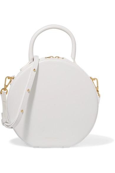 Mansur Gavriel - Circle Leather Shoulder Bag - White