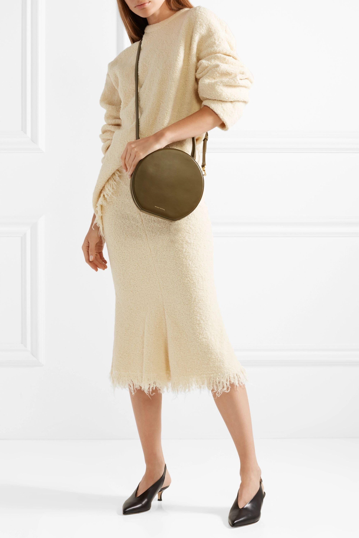 Mansur Gavriel Circle leather shoulder bag