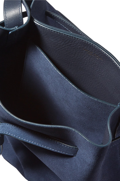 Footlocker Verkauf Online Mansur Gavriel Hobo Schultertasche aus Veloursleder Freies Verschiffen Outlet-Store Kaufen Billig Großhandelspreis Einkaufen IPAa4OtHC