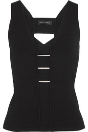 Narciso Rodriguez Cutout stretch-knit top