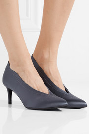 Pedro Garcia Elena frayed satin pumps