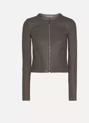 Elizabeth and James Helen cropped leather jacket