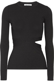 Elizabeth and James Kelton cutout stretch-knit top