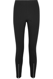 Elizabeth and James Eddine twill slim-leg pants