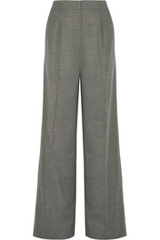 Elizabeth and James Etta stretch-wool wide-leg pants