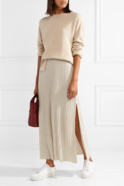 Elizabeth and James Joelle ribbed stretch-knit maxi skirt