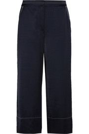 Elizabeth and James Duke cropped satin pants