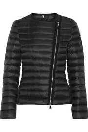 Amy quilted shell down jacket
