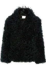 Dion Lee Shearling coat
