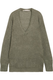 Dion Lee Oversized mohair-blend sweater